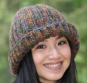 Cozy Knitted Ribbed hat