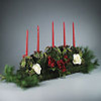Christmas Roses Centerpiece