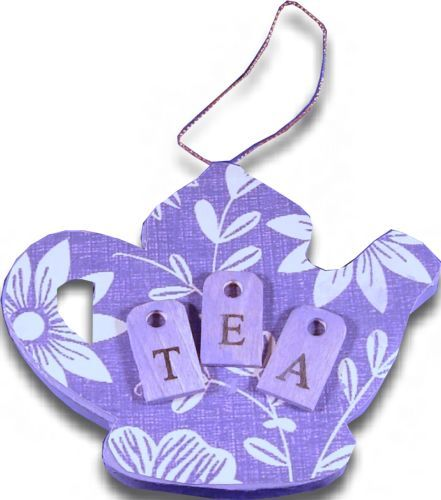 tea party craft ideas tea ornament favecrafts 5538