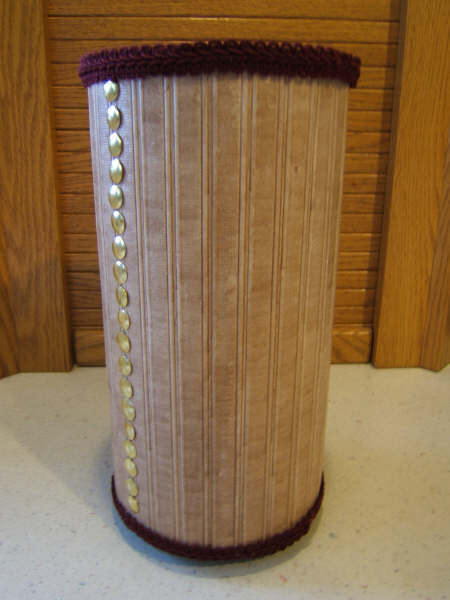 Oatmeal Container Yarn Holder Favecrafts Com