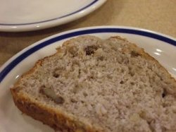 Easy Bread Machine Banana Bread