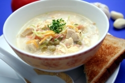 Amish Style Chicken and Corn Soup