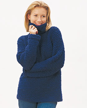 Easy Pullover Sweater Free Crochet Pattern FaveCrafts.com