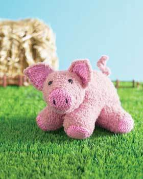 Piglet Toy Knitting Pattern