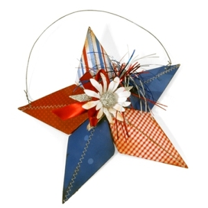 4th of July Star Wall Hanging