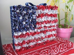 4th of july crafts to make homemade flags - 4th Of July Decorations