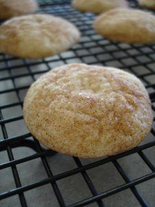 Whole Wheat Cinnamon Snickerdoodles