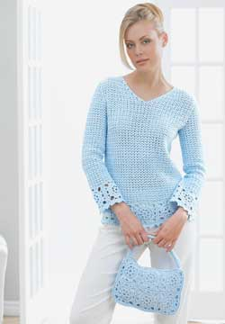 Free Crochet Tunic Pattern For Beginners : 11 Free Crochet Tunic Patterns and Cover Ups FaveCrafts.com