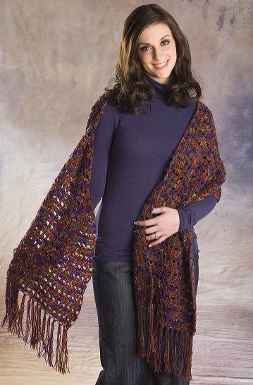 23 Crochet Patterns for Shawls and Wraps | FaveCrafts com