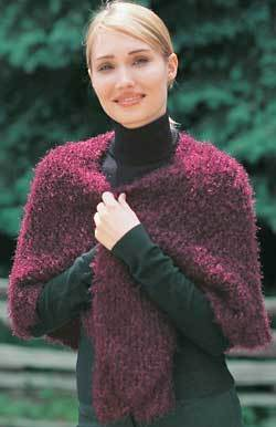 Quick And Easy Shawl Knitting Pattern Favecrafts Com