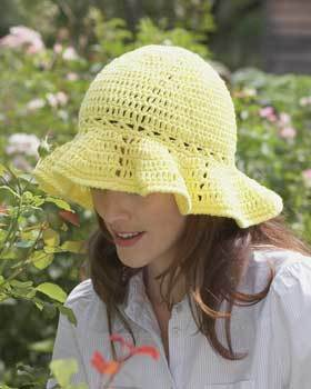 Crocheted Sun Hat