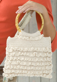 Ruffle Purse Crochet Pattern