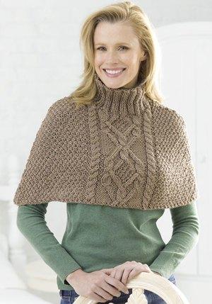16 Free Poncho Knitting Patterns | FaveCrafts com