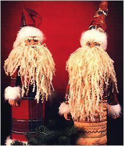Santa Claus Bottle Cover Favecrafts Com