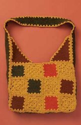Patchwork Felted Bag