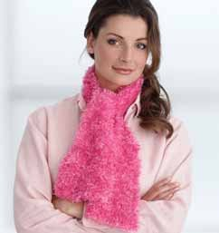 Pink Boa Scarf