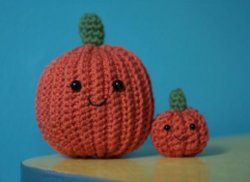 Halloween Crochet Pumpkin
