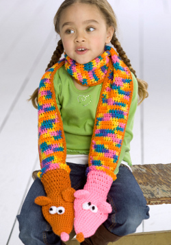 Hand Puppet Scarf