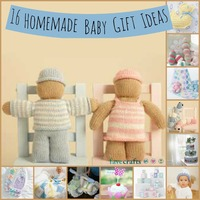 16 Homemade Baby Gift Ideas