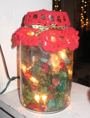 Potpourri and Lights Jar