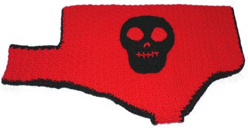 Skull Dog Coat Crochet Pattern From Caron Yarn