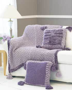 Beautiful Chevron Pillows and Afghan