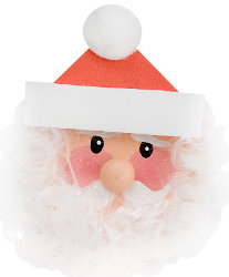 Bearded Santa Jar Lid