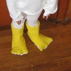 Ducky Slippers for Kids