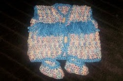 Easy Newborn Crochet Vest