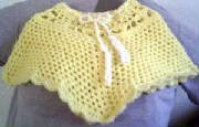 Child's Sunnytime Poncho