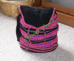 Beaded Tote Bag