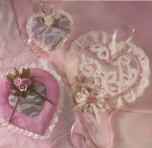 Lace Valentine Hearts