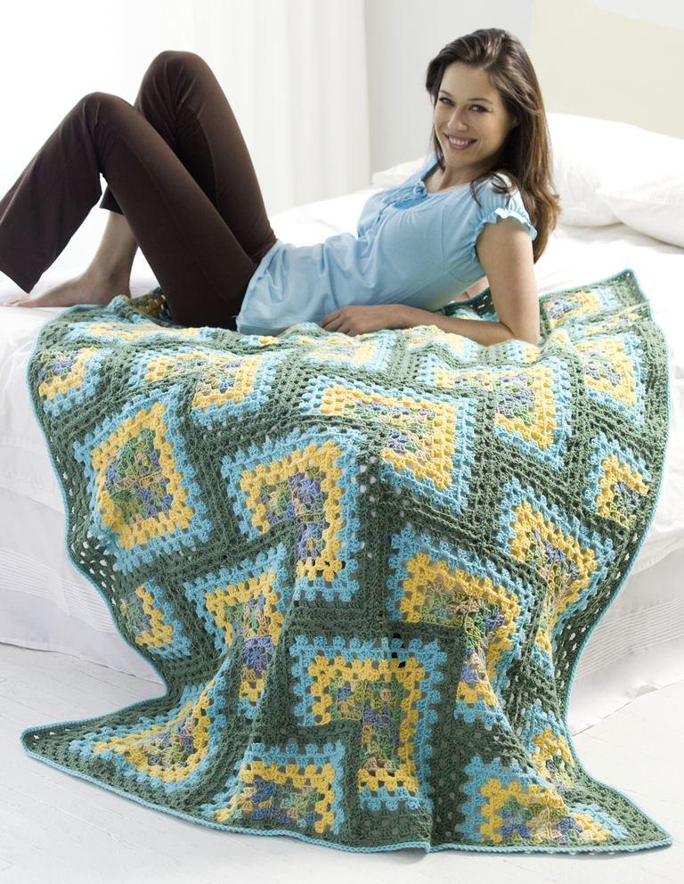 Crochet Granny Afghan Favecrafts Com