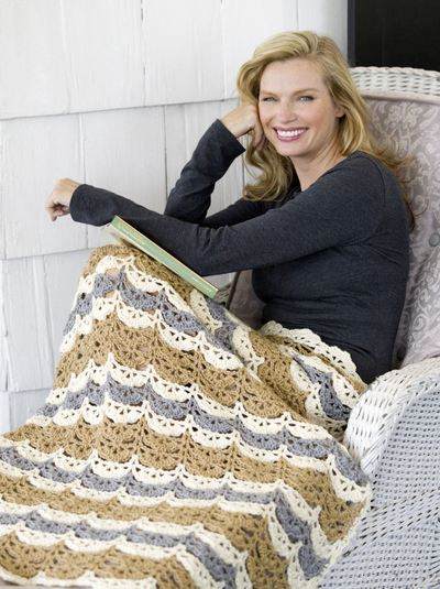 Throw Blanket On Brown Couch