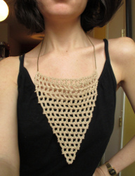 Mesh Crochet Necklace