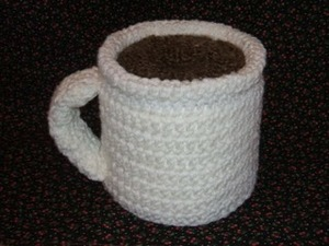 Cup 'O Coffee TP Roll Cover