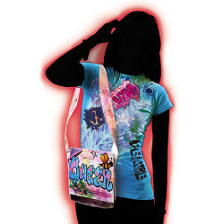Graffiti Tee Tie Dye Shirt