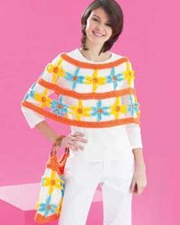 Daisy Bag and Poncho