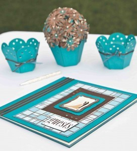 turquoise and brown wedding decorations favecraftscom