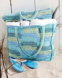 A Beach Mat and Tote Bag
