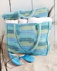 A Beach Mat and Tote Bag