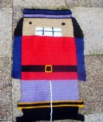 Crochet Nutcracker rug