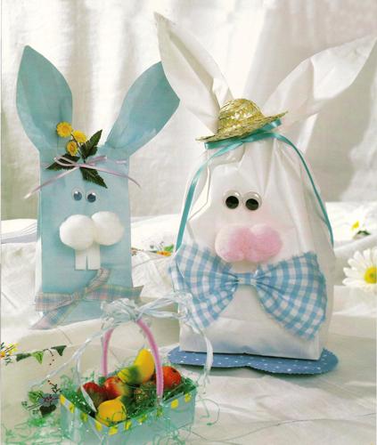 Paper Bag Easter Bunnies FaveCrafts