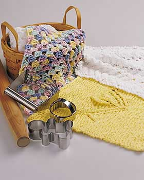 Easy knit dishcloth pattern for Fave crafts knitting patterns