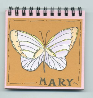 Butterfly Dreams Name Journal