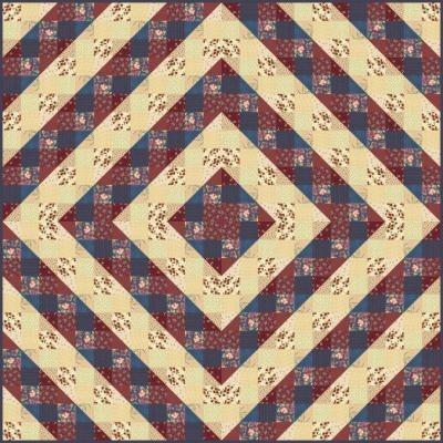 Nine Patch Variation Quilt Favecrafts Com