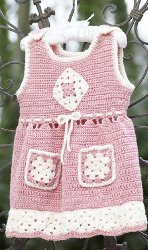 Granny Pocket Crochet Jumper