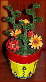 Flower Pot for Mother's Day