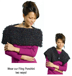 Fashionable Poncho