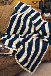 Striped Country Afghan